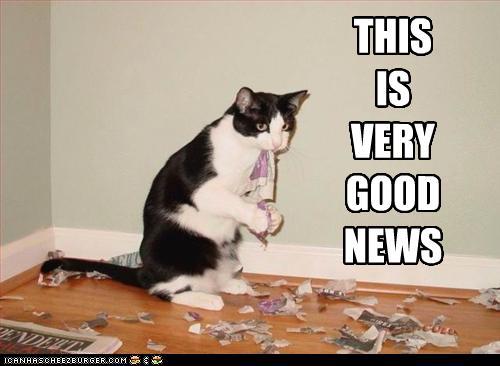 tux very good news